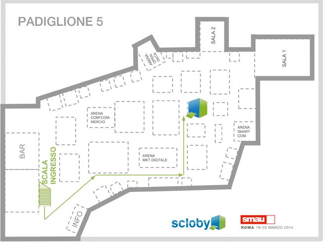 Mappa Smau Roma 2014